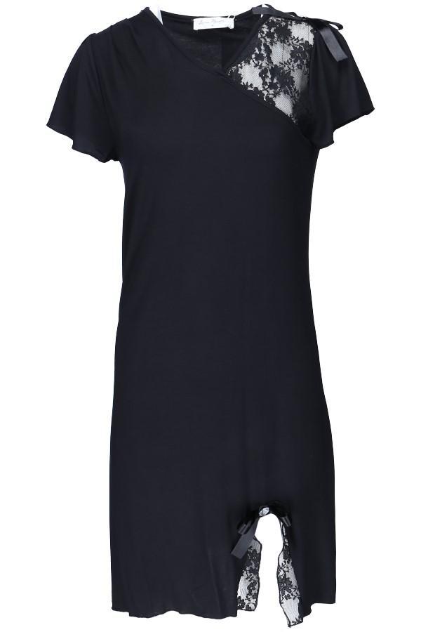 Luisa Moretti Dámská noční bambusová košilka ZARA černá M