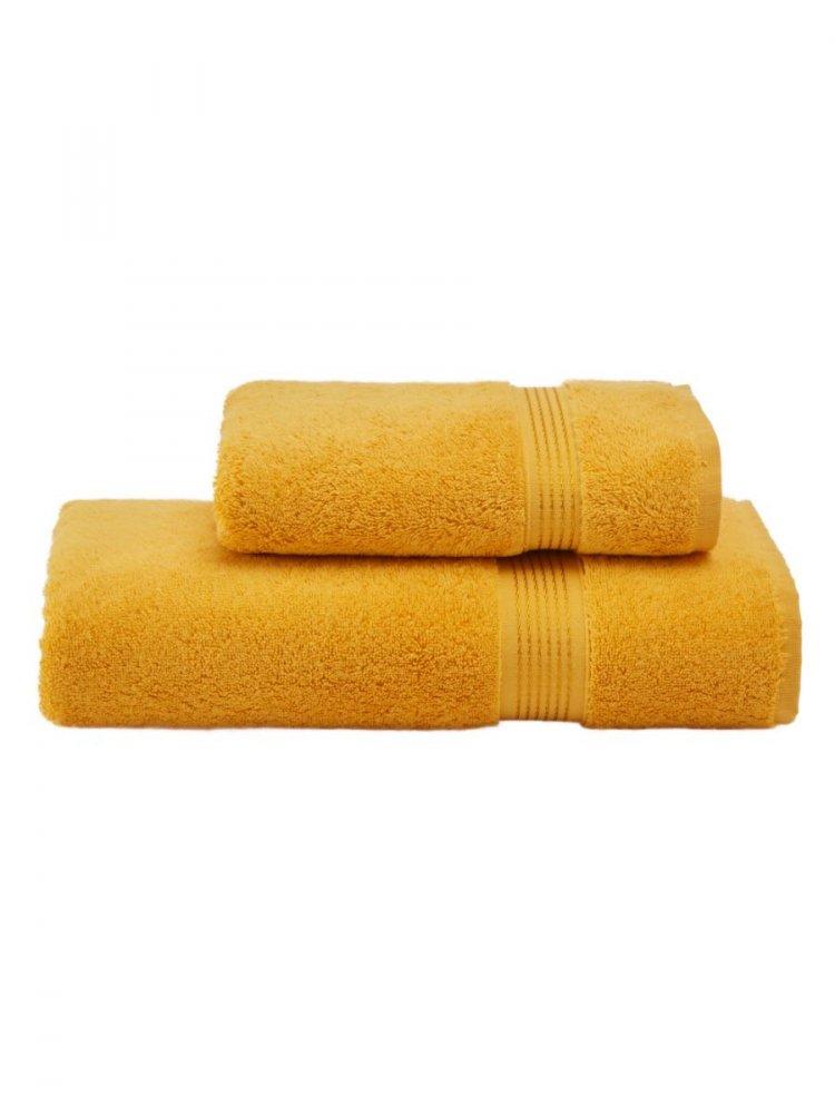Soft Cotton Dárkové balení ručníků a osušek LANE žlutá