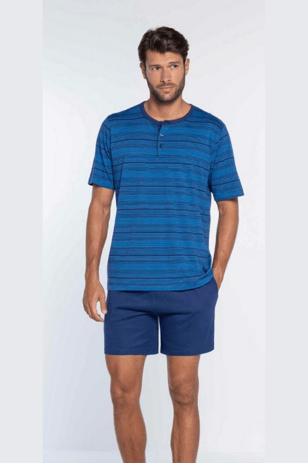 GUASCH Pánské pyžamo Xavier Modrá L