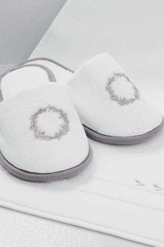Soft Cotton Pánské pantofle SEHZADE smetanová/zlatá