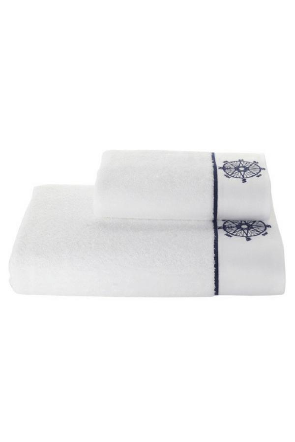 Soft Cotton Osuška MARINE LADY 85x150 cm. Kvôli tejto osuške budete chcieť skrátiť kúpeľ na mininum, len aby ste sa do nej mohla zahaliť. Budete po nej pokukovať z vane aj z bazéna. Biela