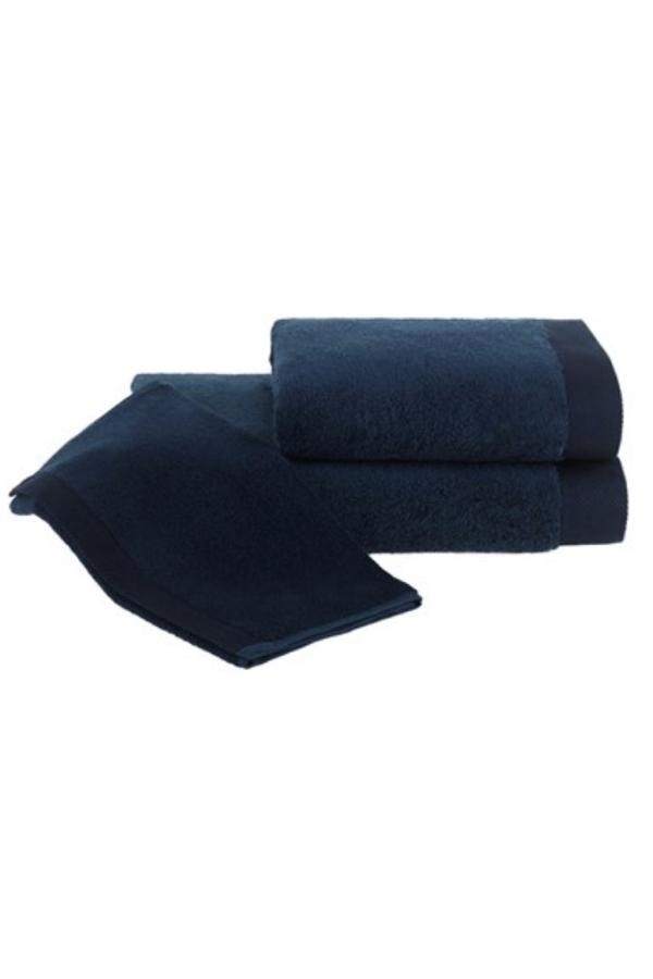 Levně Ručník MICRO COTTON 50x100 cm Tmavě modrá,Ručník MICRO COTTON 50x100 cm Tmavě modrá
