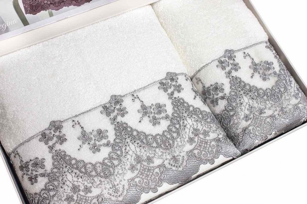 Soft Cotton Osuška a ručník REGINA v dárkovém balení