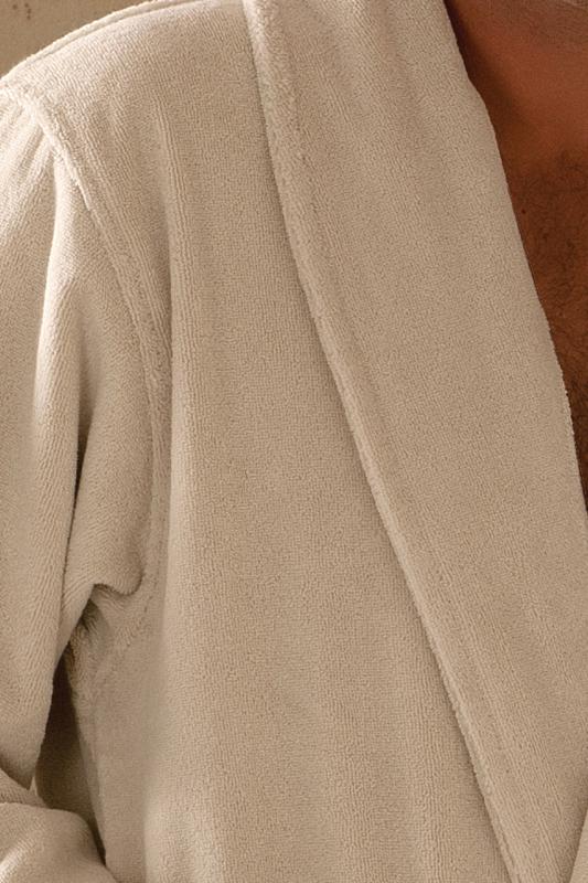 Soft Cotton Pánský a dámský župan MICRO COTTON Světle modrá S