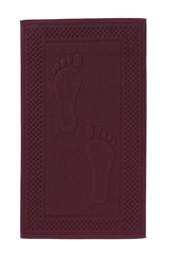 Soft Cotton Koupelnová předložka STEP 50x90 cm bordo