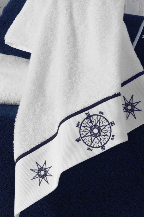 Soft Cotton Ručník MARINE LADY 50x100 cm Bílá