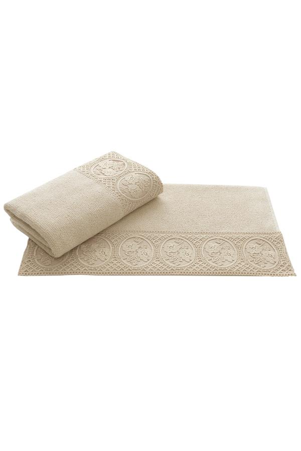 Soft Cotton Luxusní osuška ELIZA 85x150 cm tmavě hnědá