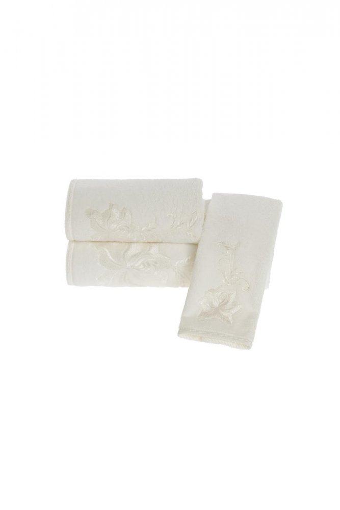 Soft Cotton Malý ručník PANDORA 32x50 cm smetanová
