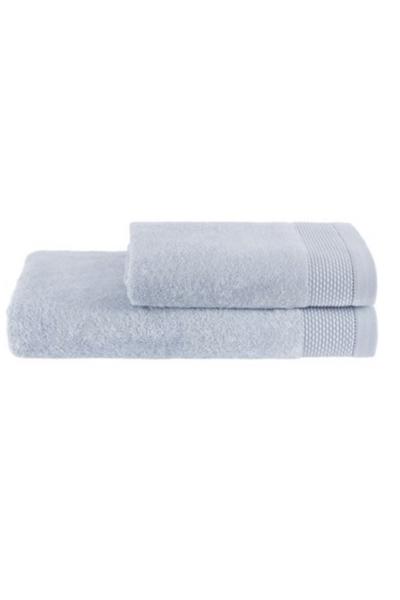 Soft Cotton Dárková sada ručník a osuška BAMBOO světle modrá