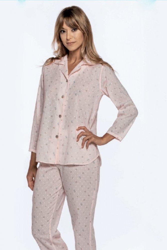 GUASCH Dámske pyžamo ALMA Ružová S