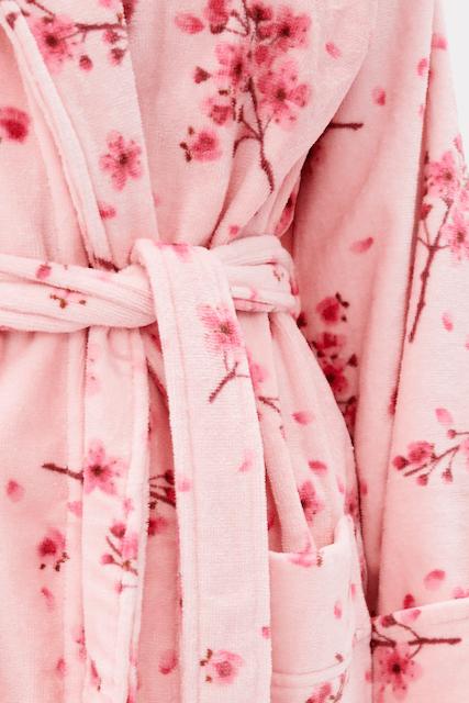 Soft Cotton Dámský župan CARIO Růžová L