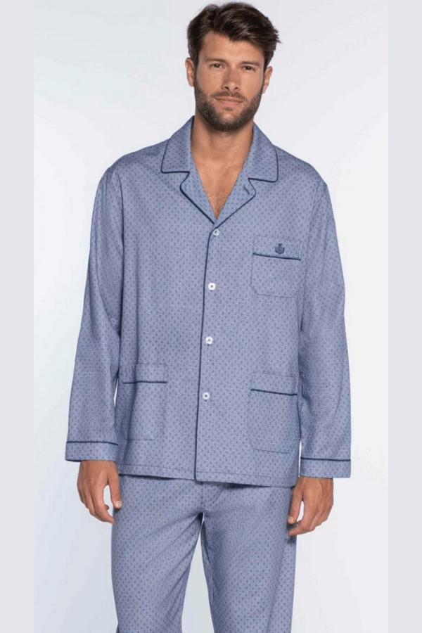 GUASCH Pánske pyžamo RAFAEL Modrá L