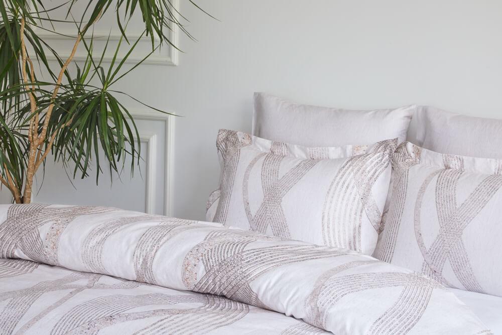 Soft cotton Povlečení na dvoulůžko VALOR Smetanová 200x220, 280x270, 50x70cm