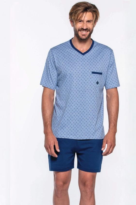 GUASCH Pánske pyžamo GABRIEL XL Svetlo modrá