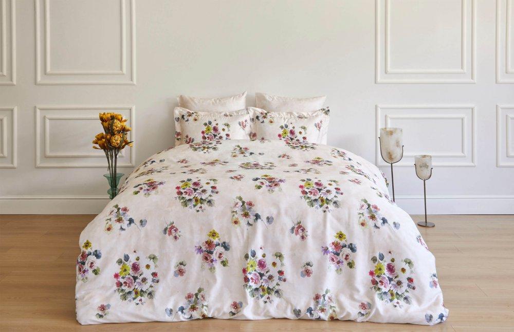 Soft cotton Povlečení na dvoulůžko NOVELLA Smetanová 200x220, 280x270, 50x70cm