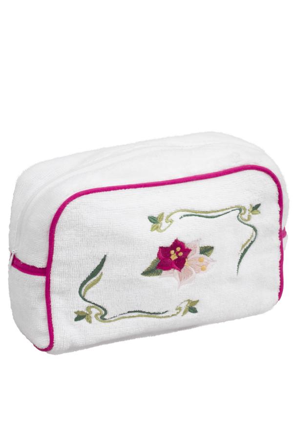 Soft Cotton Kosmetická taštička LILY Bílá XL