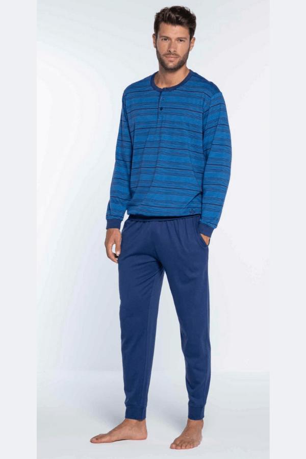 GUASCH Pánské pyžamo LEONARDO Modrá M