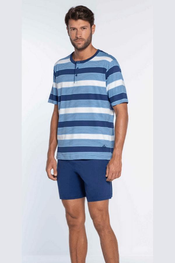 GUASCH Pánské pyžamo SEBASTIAN Modrá XXL