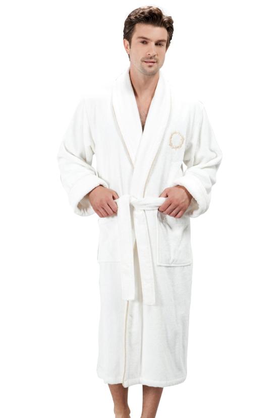Soft Cotton Luxusní pánský župan SEHZADE s ručníkem a papučkami  v dárkovém balení