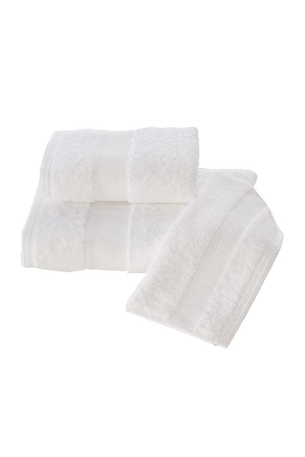 Soft Cotton Luxusné uterák DELUXE 50x100cm. Najlepšie uteráky, ktoré spĺňajú požiadavky na savosť, hebkosť a ľahkú údržbu. Biela
