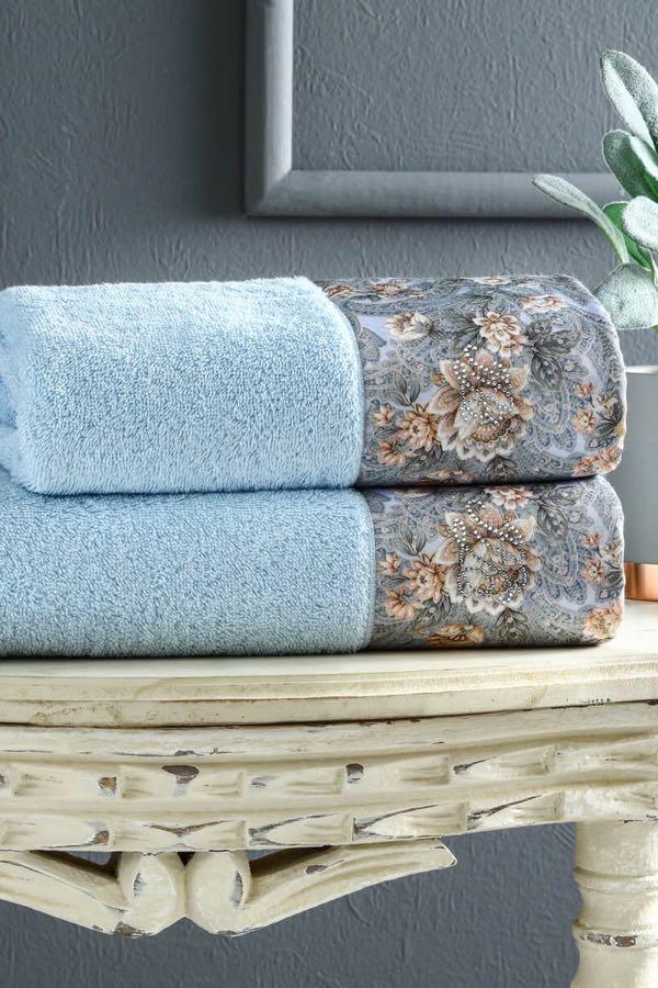 Soft Cotton Osuška a ručník ANIKA v dárkovém balení