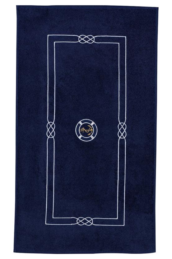 Soft Cotton Koupelnová předložka MARINE MAN 50x90 cm tmavě modrá