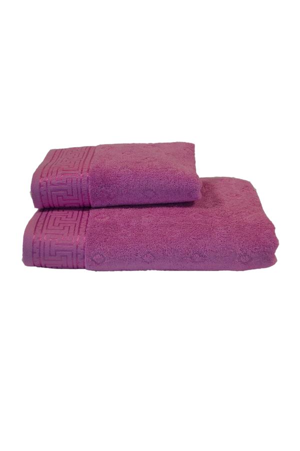 Soft Cotton Osuška VERA 75x150 cm růžovo fialová