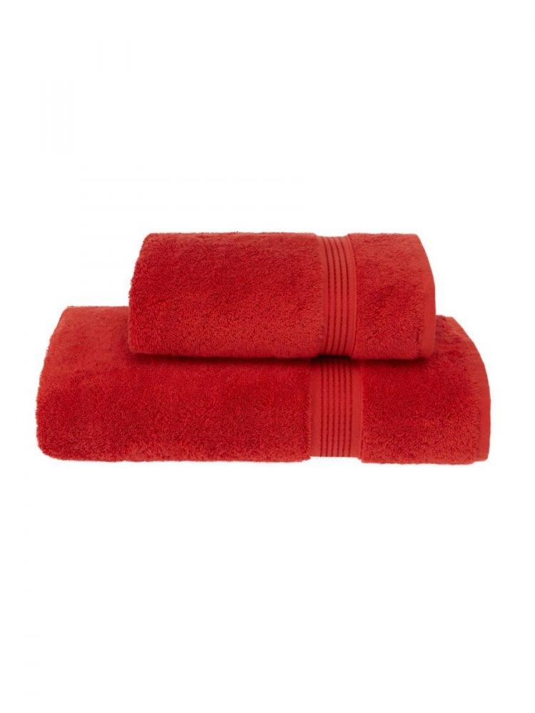 Soft Cotton Dárkové balení ručníků a osušek LANE červená