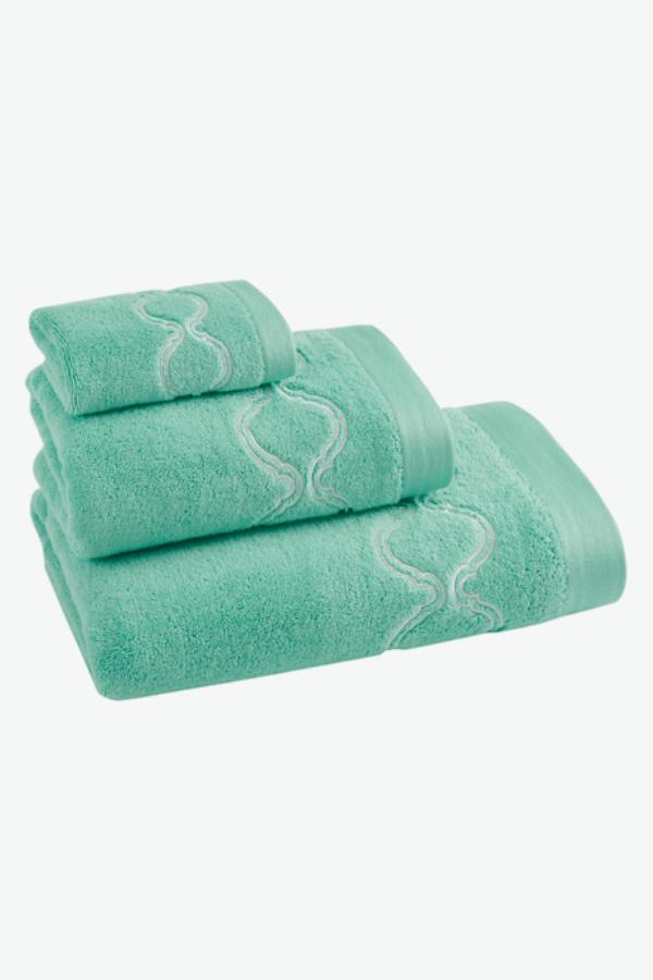 Soft Cotton Dárkové balení ručníků a osušek ESTIVA Mentolová