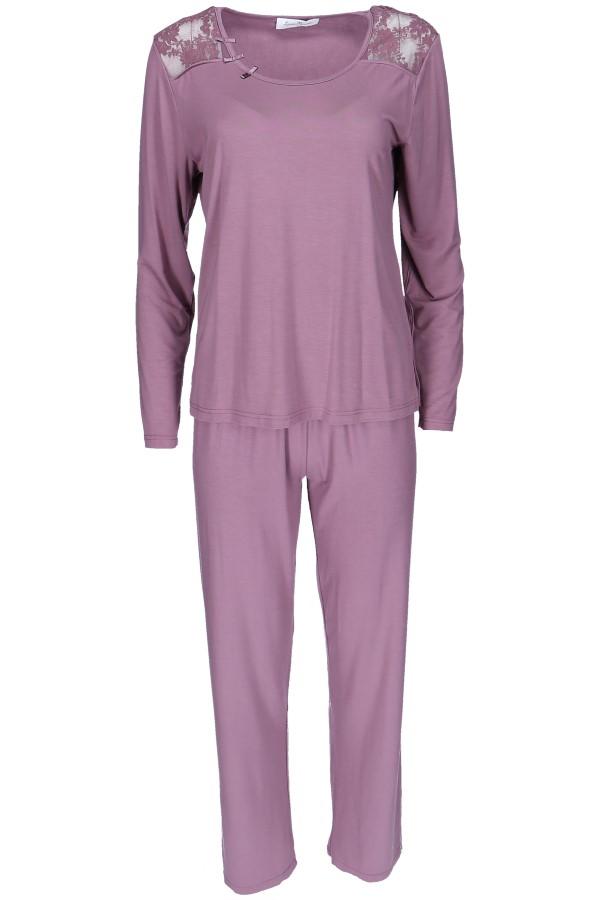 Luisa Moretti Dámské bambusové pyžamo PAOLA L