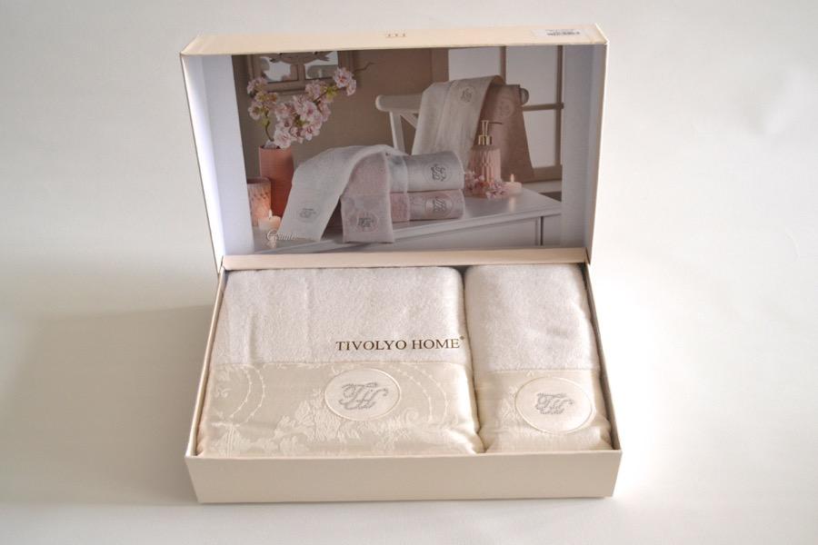 Soft Cotton Osuška a ručník GRANT v dárkovém balení Sada (50x100cm,  75x150cm) starorůžová