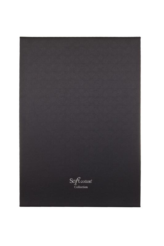 Soft Cotton Luxusní pánský velurový župan SHARP v dárkovém boxu Bílá S