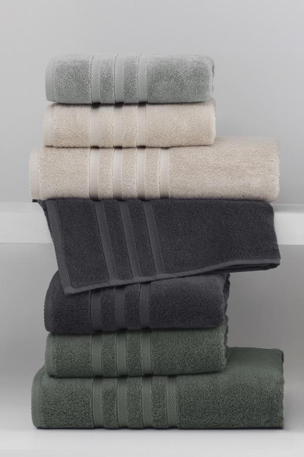 Soft Cotton Ručník BOHEME 50x100 cm bílá