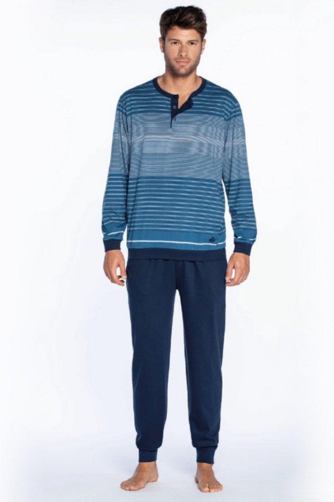 GUASCH Pánské pyžamo ROQUE modrá M