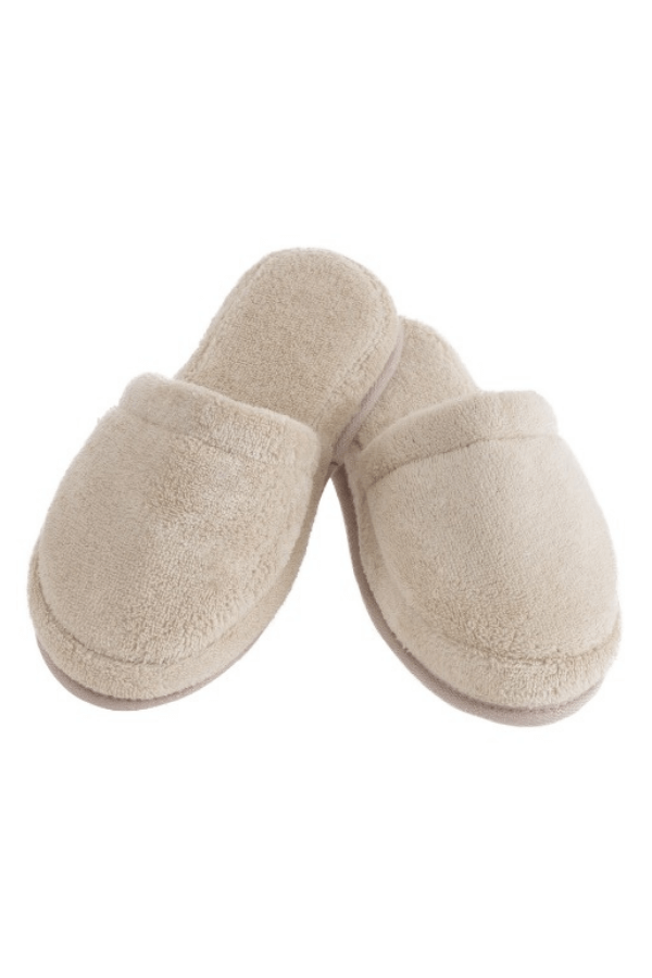 Soft Cotton Unisex pantofle COMFORT béžová