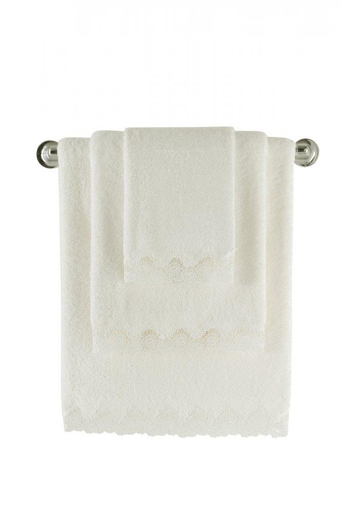 Soft Cotton Osuška ANGELIC 85x150 cm. Velmi jemná, savá a nadýchaná froté osuška ANGELIC vyrobená z vysoce kvalitní egejské bavlny.
