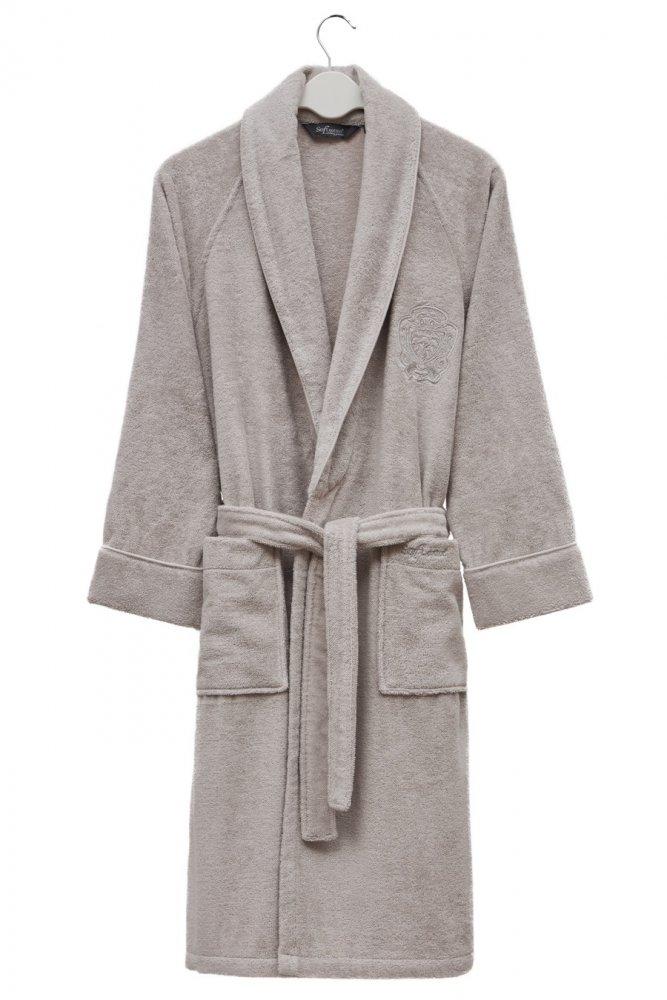 Soft Cotton Modalový župan DELUXE pro muže i ženy bílá XL