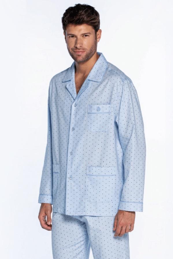 GUASCH Pánské pyžamo ANTONIO světle modrá XL