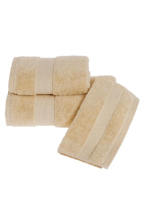 Soft Cotton Luxusné uterák DELUXE 50x100cm. Najlepšie uteráky, ktoré spĺňajú požiadavky na savosť, hebkosť a ľahkú údržbu. Medová Honey