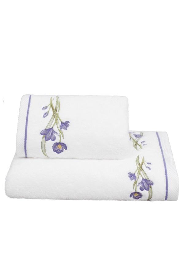 Soft Cotton Osuška BLOSSOM 85x150 cm bílá