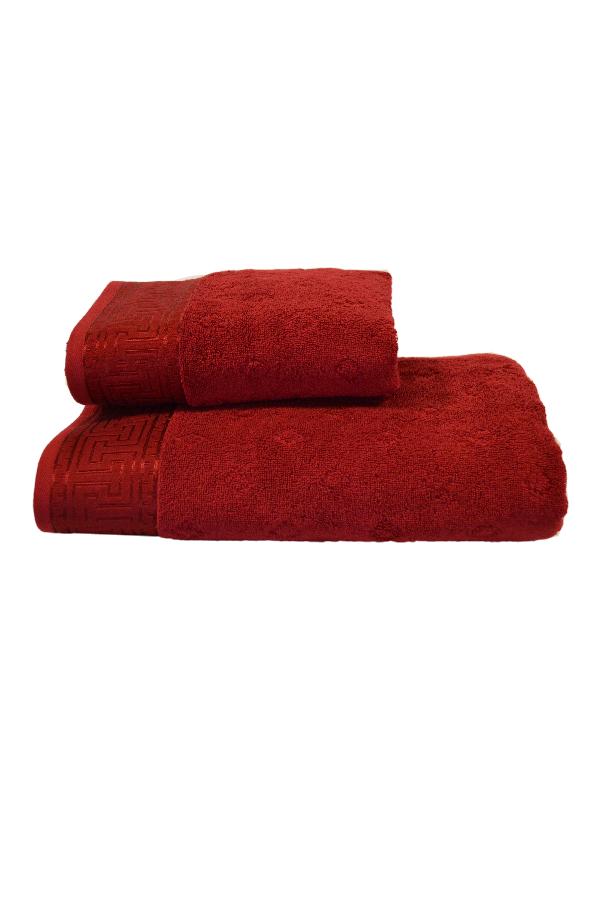 Soft Cotton Osuška VERA 75x150 cm tmavě červená