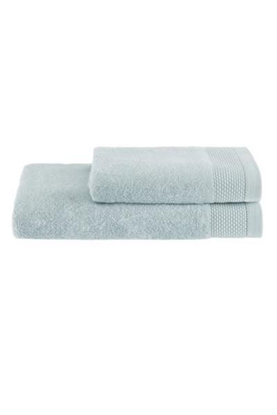 Soft Cotton Dárková sada ručník a osuška BAMBOO  mentolová