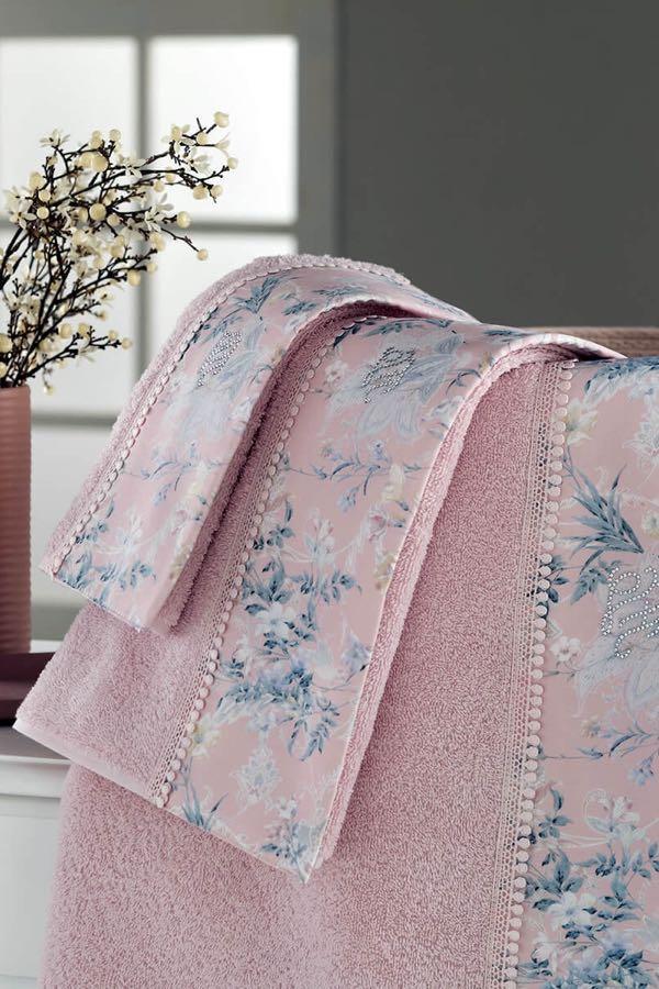 Soft Cotton Osuška a ručník HENA v dárkovém balení
