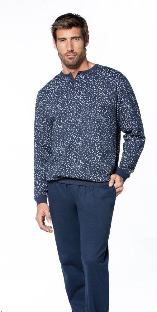 GUASCH Pánské pyžamo MIGUEL tmavě modrá M