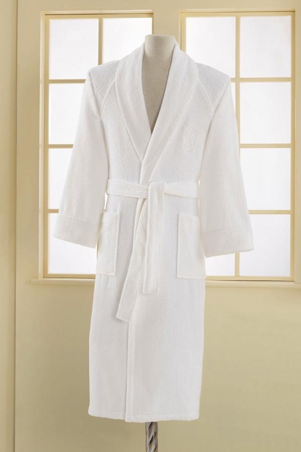 Soft Cotton Modalový župan DELUXE pro muže i ženy bílá XXL