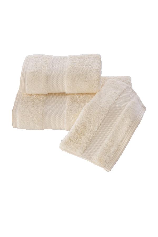 Soft Cotton Luxusné uterák DELUXE 50x100cm. Najlepšie uteráky, ktoré spĺňajú požiadavky na savosť, hebkosť a ľahkú údržbu. Krémová