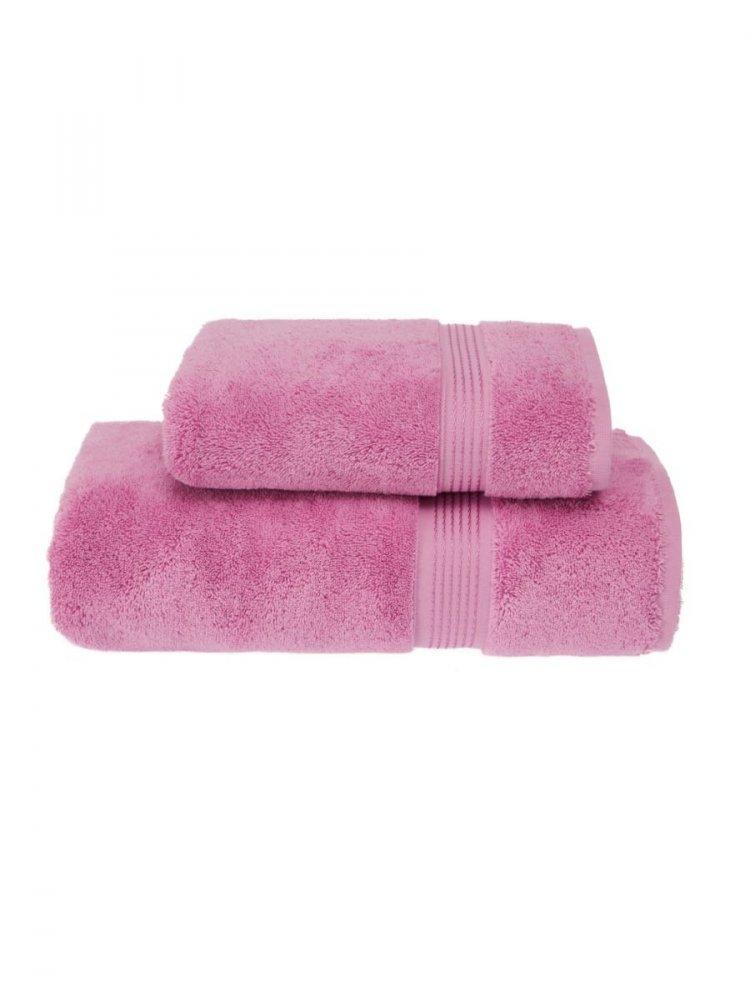 Levně Sada ručník a osuška LANE, 2 ks Růžovo-fialová,Sada ručník a osuška LANE, 2 ks Růžovo-fialová