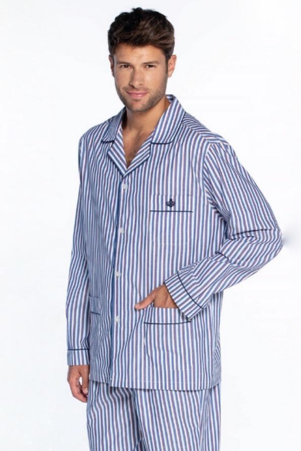 GUASCH Pánské pyžamo SERGIO světle modrá S