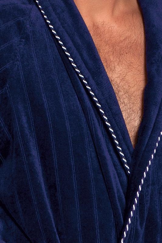 Soft Cotton Luxusní pánský velurový župan SHARP v dárkovém boxu