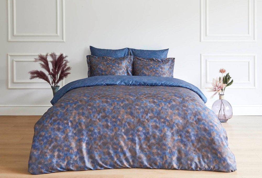 Soft cotton Povlečení DAMINA Fialová/Lila Dvoulůžko 200x220, 280x270, 50x70cm